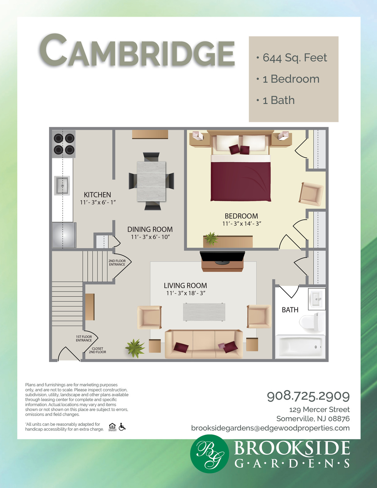 Brookside Gardens Cambridge Floor Plans