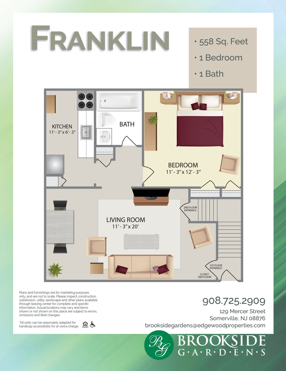 Brookside Gardens Franklin Floor Plans