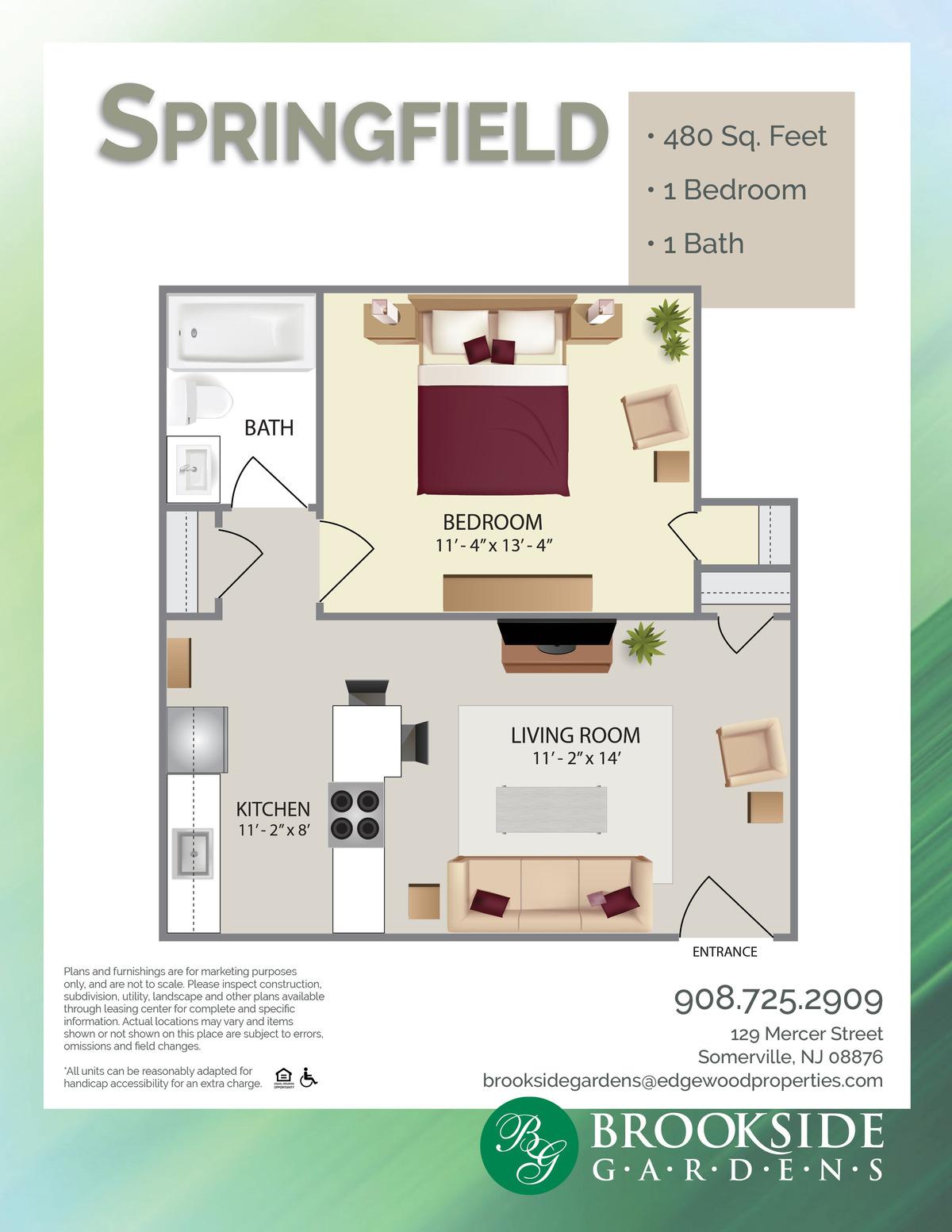 Brookside Gardens Springfield Floor Plans